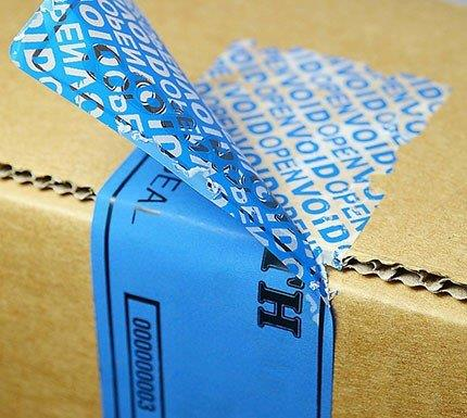 Etiquetas adesivas lacre de segurança