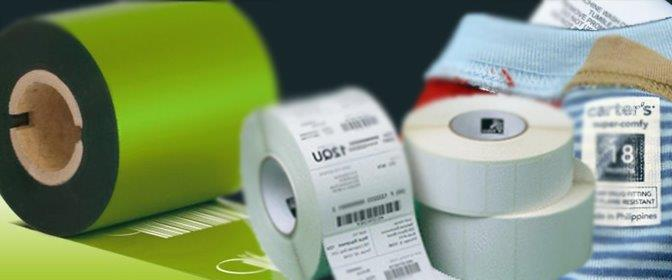 Etiquetas adesivas com logo