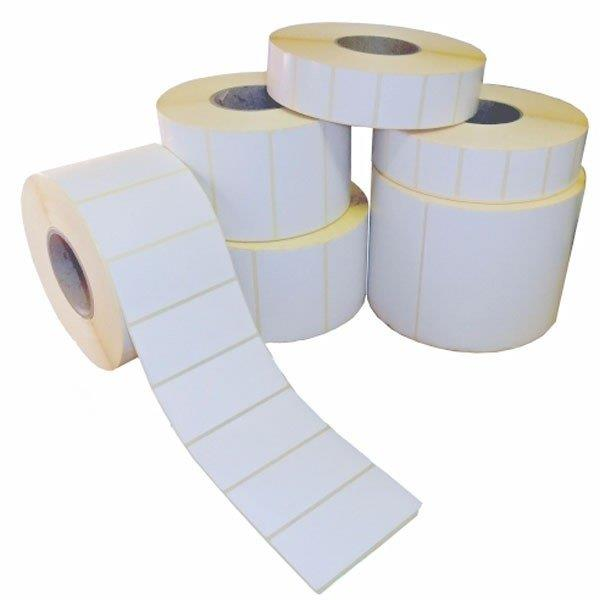 Fábrica de etiquetas brancas